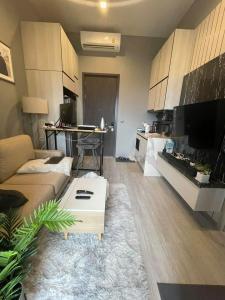 For RentCondoOnnut, Udomsuk : THE LINE Sukhumvit 101, Chao Phraya River view, next to BTS 🔥For Rent 🔥