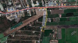 ขายที่ดินนครปฐม พุทธมณฑล ศาลายา : ⚡️⚡️ขายด่วน⚡️⚡️ที่ดินแปลงสวย อ.บางเลน นครปฐม ใกล้ถนนใหญ่ทางหลวงเพียง 400 เมตร