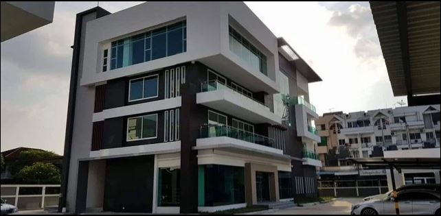 For RentOfficeLadprao101, The Mall Bang Kapi : 4-storey office building for rent, Soi Ladprao 101