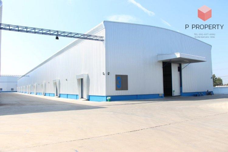 For RentWarehouseRangsit, Patumtani : Warehouse and office for rent, Lat Lum Kaeo, Pathum Thani, size 2,520-5,040 sq.m.