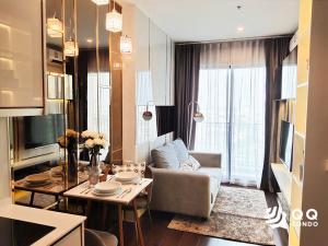 For SaleCondoSukhumvit, Asoke, Thonglor : For sale C Ekkamai  1Bed, size 30 sq.m., Beautiful room, fully furnished.