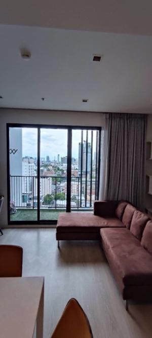 เช่าคอนโดรัชดา ห้วยขวาง : คอนโด QUINN รัชดา17  อาคาร B ชั้น 12 ขนาดห้อง 45 ตร.ม. (Type one bedroom) ห้องพร้อมอยู่ค่ะ