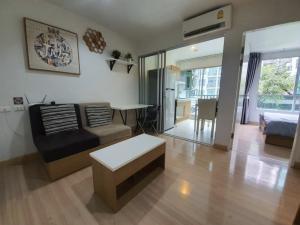 For RentCondoBang kae, Phetkasem : Condo Niche ID Bang Khae (Phase 1) 1 bedroom, 1 bathroom, 1 living room, 1 kitchen ** ***- Size 30.20 sq m. The room is on the 2nd floor of Building B-