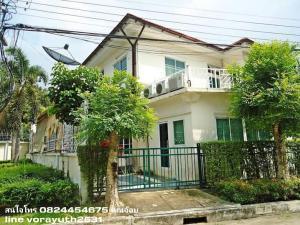 For RentHouseNakhon Pathom, Phutthamonthon, Salaya : For rent, Image Place Village, Phutthamonthon Sai 4, 2 storey house, 92.6 sq m., 4 bedrooms, 4 bathrooms.
