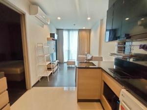 For RentCondoRama9, RCA, Petchaburi : Condo for rent, The Line Asoke BA21_07_001_01, beautiful room, furniture, electrical appliances, price 15,499 baht.