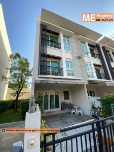 For SaleTownhouseRama9, RCA, Petchaburi : Sell Townhouse Baan Klang Muang Rama 9  near Airport Link  & Motorway