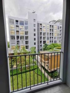 For RentCondoOnnut, Udomsuk : 🌟The Nest Sukhumvit 71 for rent 1 bedroom 1 bathroom 33.24 sq.m. fl.4 price 12,000THB/month Garden view Fully furnished, Ready move in near BTS Phrakhanong🌟