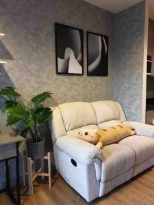 เช่าคอนโดลาดพร้าว เซ็นทรัลลาดพร้าว : ตกแต่งสวยสไตล์ลอฟท์! Chapter One Midtown Ladprao 24 ให้เช่า1 ห้องนอน 1 ห้องน้ำ 30 ตร.ม. ชั้น 4 ราคา 16,000 บาท/เดือนเฟอร์ครบพร้อมอยู่ใกล้MRT ลาดพร้าวเดินทางสะดวก