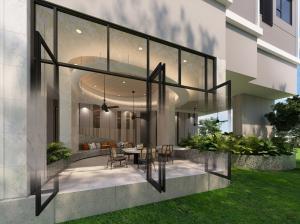 Sale DownCondoSamrong, Samut Prakan : 🎉Aspire Erawan Prime 1 step to BTS Chang Erawan 🎉 ⭐️ Reserve 1,990 baht ⭐️ Free furniture, curtain, wallpaper