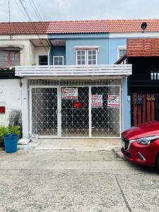 For SaleTownhouseMin Buri, Romklao : For Sale : Townhouse 2 floors, area 16 sq m. 🌈 Rungnapha Village 2, Ramkhamhaeng Road 194