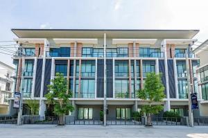 For RentHome OfficeKaset Nawamin,Ladplakao : For rent home office 4 floors premium place Kaset Nawamin 2