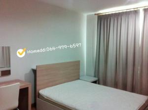 For SaleCondoRatchadapisek, Huaikwang, Suttisan : Condo for sale, 1 bedroom, 41 sq.m., next to MRT Sutthisan, Bangkok.