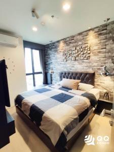 For RentCondoOnnut, Udomsuk : For rent Rhythm Sukhumvit 44/1  1Bed, size 35 sq.m., Beautiful room, fully furnished.