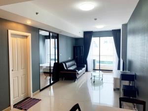 For RentCondoSukhumvit, Asoke, Thonglor : Condo Supalai Premier Place Asoke @MRT Sukhumvit 60 sq.m 1Bed 25th floor, Fully furnished, New Renovate