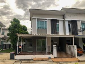 For SaleTownhouseBangna, Lasalle, Bearing : Townhouse for sale, 2 floors, Area 24 sq m. Pruksa Ville 66 Bangna, Nam Daeng, Bang Kaeo, Bang Phli, Samut Prakan.