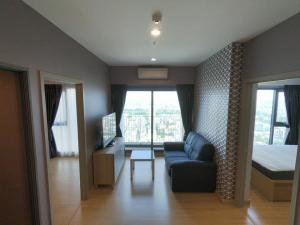 For RentCondoOnnut, Udomsuk : HM-0196 available for rent, Whizdom Connect Sukhumvit condo, furnished. complete electrical appliances Ready to move in immediately, convenient transportation, near BTS Punnawithi