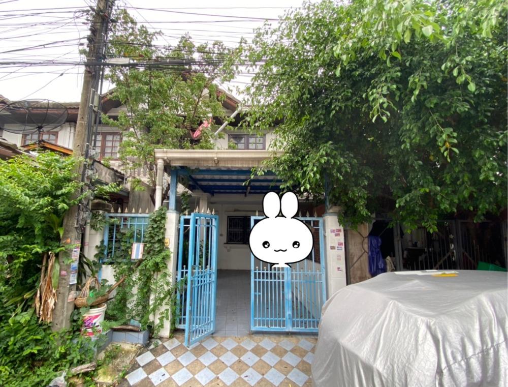 For SaleTownhouseLadprao101, The Mall Bang Kapi : H436-Townhouse for sale, 2 floors, Sindhorn Village, Bang Kapi, near BTS Bang Kapi, The Mall, Makro
