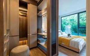For SaleCondoOnnut, Udomsuk : New condo near BTS 2 stations * 'The Nest Sukhumvit64 Ready to move in. Practical Space function.