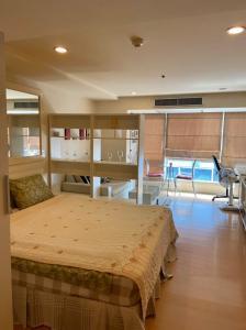 For RentCondoNana, North Nana,Sukhumvit13, Soi Nana : The Trendy for rent Studio room 1 bathroom 33 sq.m. fl.11 Fully furnished, Ready move in near BTS Nana