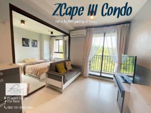 For RentCondoPhuket, Patong : ZCape 3 New Modern Life style ( ให้เช่าราคาสุดพิเศษ)