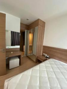 For RentCondoOnnut, Udomsuk : Best price!! Rhythm Sukhumvit 50 for rent 1 bedroom 1 bathroom 35 sq.m. fl.10 Fully furnished, Ready move in near BTS Onnut
