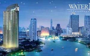For RentCondoWongwianyai, Charoennakor : Condo for rent, Watermark Chao Phraya River, 3 bedrooms144 sq.m., price 50000 baht per month.