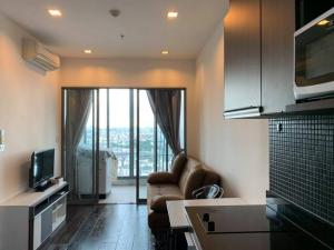 For RentCondoRatchathewi,Phayathai : Condo for rent, Ideo Q Phayathai, 36th floor, wide room, fully furnished, beautiful view, near BTS Phayathai