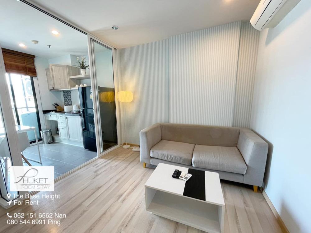 For RentCondoPhuket, Patong : Condo for Rent Phuket : The Base Height (THE BASE HEIGHT) near Bangkok Hospital.