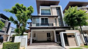 For SaleHouseRama9, Petchburi, RCA : Modern detached house for sale, Nirvana Beyond Ramkhamhaeng Project, Rama 9, price only 19.8 million baht.