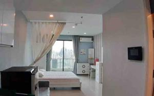 For RentCondoRama9, RCA, Petchaburi : Supalai Premiere @ Asoke for rent Studio room 34 sq.m. fl.27 Fully furnished, Ready move in near MRT Phetchaburi