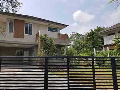 For SaleHouseRama9, RCA, Petchaburi : [For Sale] 2 Storeys Detached House in Nusasiri Rama 9-Wongwaen