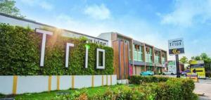 For SaleTownhouseRamkhamhaeng,Min Buri, Romklao : For Sale New home office for sale, Trio Romklao, Trio Romklao, 3 and a half floors home office, TRIPLUS type.