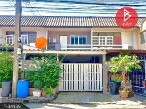 For SaleTownhouseChengwatana, Muangthong : Townhouse for sale Welfare Village, Bangkok, Chaengwattana, ready to renovate