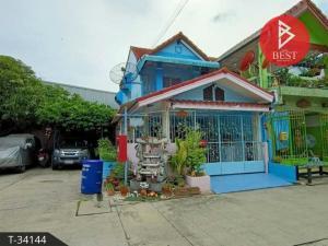 For SaleTownhouseSamrong, Samut Prakan : Townhouse for sale Nakhon Thong Village 3, Phraeksa, Samut Prakan, ready to move in