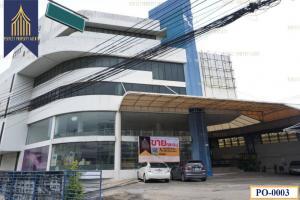 For SaleLandLadkrabang, Suwannaphum Airport : อาคาร โชว์รูม 6 ชั้น อ่อนนุช ประเวศ  จอดรถได้ 40 คัน