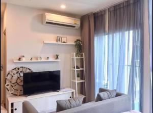 For RentCondoRatchadapisek, Huaikwang, Suttisan : 🌟Noble Revolve Ratchada for rent Studio room 23 sq.m. fl.33 price 12,000THB/month Fully furnished, Ready move in near MRT Thailand Cultural Center🌟
