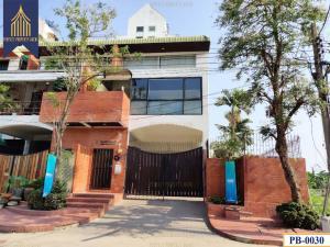 For SaleShophousePattanakan, Srinakarin : Office building, Srinakarin, near the yellow BTS