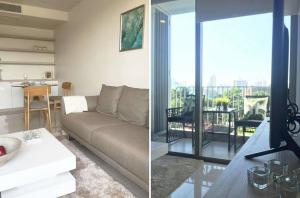 For RentCondoSukhumvit, Asoke, Thonglor : Downtown 49 corner unit with fully furnished + City view + Pet are welcome (near BTS Phrompong, Smitivej Hospital Sukhumvit)