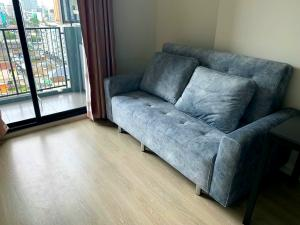 For SaleCondoRatchadapisek, Huaikwang, Suttisan : Condo for sale Quinn Ratchada 17, next to MRT Suthisan, new room, north, beautiful view, size 35 sq.m., price 3.85 million baht, 095-591-9463