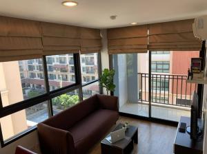 For RentCondoKaset Nawamin,Ladplakao : Condo for rent at Baan Navatara, large room, corner room
