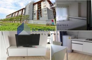 For RentCondoBangbuathong, Sainoi : For rent, Plum Condo Bangyai Station *Partial glass partition* ready to move in
