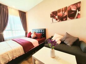 For RentCondoRamkhamhaeng, Hua Mak : @condorental for rent Knightsbridge Collage Ramkhamhaeng, beautiful room, good price, ready to move in!!