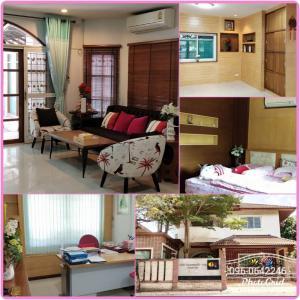 For SaleHouseRamkhamhaeng,Min Buri, Romklao : 🏡 Urgent sale ✨ Detached house 71 sq m. M. Amorn Place, next to Ramkhamhaeng Road 167/1, Saphan Sung District, near the intersection of Mistine, the orange train.