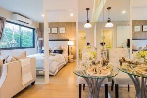 For SaleCondoSukhumvit, Asoke, Thonglor : The Nest Sukhumvit 22 Condo is ready in the heart of Asoke, Low Rise Condo, near 2 BTS lines, both MRT Queen Sirikit Center and BTS Phrom Phong.