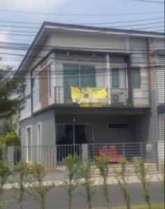 For RentTownhouseEakachai, Bang Bon : N165 Townhome for rent, 2 floors, Villette Kanchanaphisek, area 35 sq m, corner plot, 3 bedrooms, 2 bathrooms, air conditioner, furniture, near Bang Khae, Bang Bon, Kanlapaphruek, Petchkasem