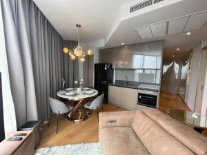 For RentCondoRama9, RCA, Petchaburi : Ashton Asoke Rama 9 for rent 2 bedroom 62 sq.m. Fl.27 price 50,000 THB/month Fully furnished, Ready move in near MRT Rama 9