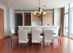 For RentCondoSathorn, Narathiwat : Rental : Sukhothai Condo , Sathorn Area , 3 Bed 3 Bath , 267 sqm , Floor 26F th  🔥🔥Rental : 200,000 THB / Month. 🔥🔥