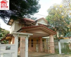 For RentHouseRamkhamhaeng, Hua Mak : For rent, Perfect Park Village, Ramkhamhaeng 164, MRT Orange Line.