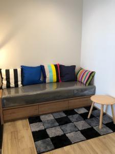 For RentCondoSapankwai,Jatujak : The Line Jatujak-Mochit for rent Studioroom 26 sq.m. fl.28 price 17,000THB/month Fully furnished, Ready move in near BTS Mochit
