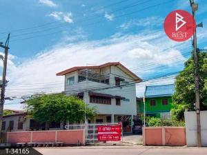 For SaleHouseAyutthaya : Selling cheap single house with tenants, 3 floors, Wang Kaew Villa Village. Ayutthaya